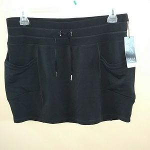 4b7de5ad6e NWT Calia To From Caviar Black Skirt sz XL